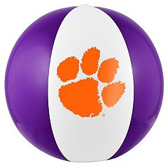 Forever Collectibles Clemson Tigers Beach Ball