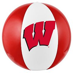Forever Collectibles Wisconsin Badgers Beach Ball