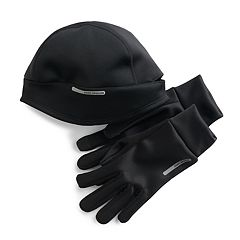 Men's ZeroXposur Hudson Performance Beanie & Gloves Running Set