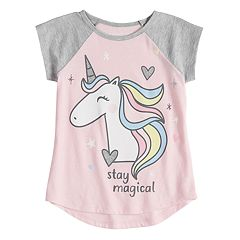 Toddler Girl Jumping Beans® 'Stay Magical' Unicorn Graphic Tee