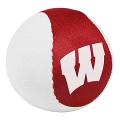 Forever Collectibles Wisconsin Badgers Water Bounce Ball