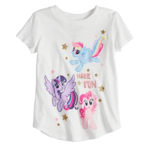 Toddler Girl Jumping Beans® My Little Pony Rainbow Dash, Twilight Sparkle & Pinkie Pie Graphic Tee