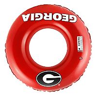 Forever Collectibles Georgia Bulldogs 31-Inch Inflatable Tube