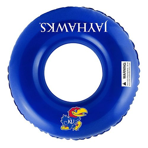 Forever Collectibles Kansas Jayhawks 31-Inch Inflatable Tube