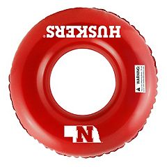 Forever Collectibles Nebraska Cornhuskers 31-Inch Inflatable Tube