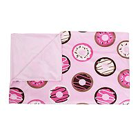 Thro Donna Donuts Print Micromink Throw