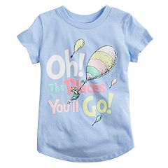 Toddler Girl Jumping Beans® Dr. Suess 'Oh The Places You'll Go' Graphic Tee