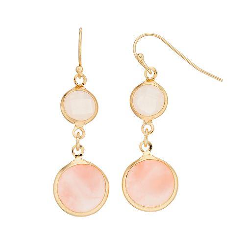 LC Lauren Conrad Double Drop Earrings