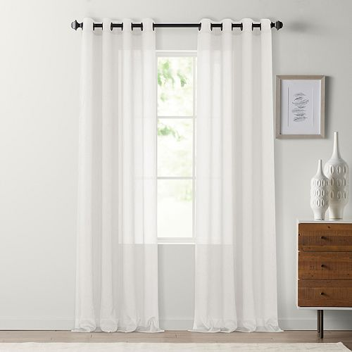 SONOMA Goods for Life™ 1-Panel Crushed Voile Grommet Window Curtain