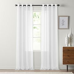SONOMA Goods for Life™ Crushed Voile Grommet Window Curtain