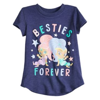 "Toddler Girl Jumping Beans® Shimmer & Shine ""Besties Forever"" Graphic Tee"