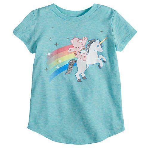 35cd32eaae4 0 item(s), $0.00. Toddler Girl Jumping Beans® Care Bear Unicorn Graphic Tee