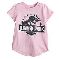 Toddler Girl Jumping Beans® Jurassic Park Glittery Graphic Tee