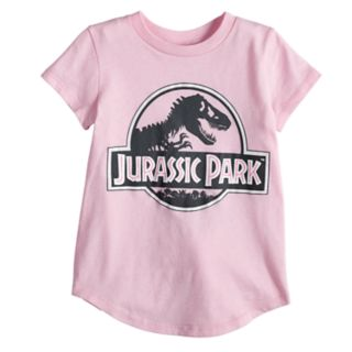 Toddler Girl Jumping Beans® Jurassic Park Glittery Graphic Tee