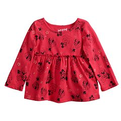 Disney's Minnie Mouse Baby Girl Polka-Dot Top by Jumping Beans®
