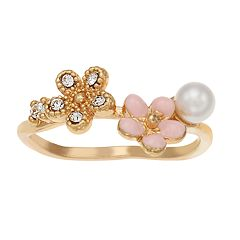 LC Lauren Conrad Flower Cluster Ring