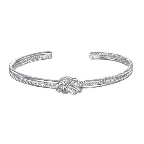 LC Lauren Conrad Textured Knot Cuff Bracelet