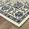 StyleHaven Mainland Traditional Framed Floral Indoor Outdoor Rug