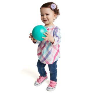 Baby Girl Jumping Beans® Faux-Denim Jeggings