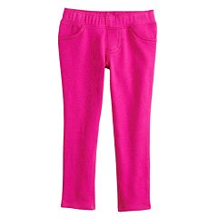 Baby Girl Jumping Beans® Solid Jeggings
