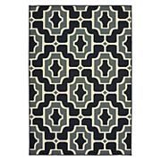 StyleHaven Mainland Geometric Tile Indoor Outdoor Rug