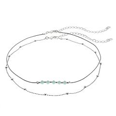 LC Lauren Conrad 2-Piece Choker Necklace Set
