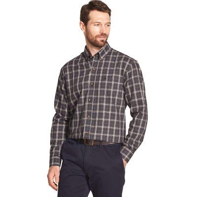 Men's Arrow Heritage Classic-Fit Plaid Twill Button-Down Shirt