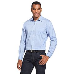 Men's Van Heusen Traveler Classic-Fit Non-Iron Stretch Button-Down Shirt