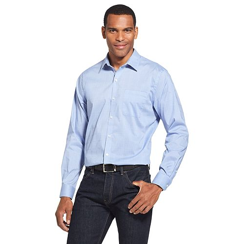 4029c05e9f2ee Men s Van Heusen Traveler Classic-Fit Non-Iron Stretch Button-Down Shirt