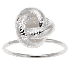 LC Lauren Conrad Textured Knot Ring