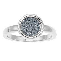 LC Lauren Conrad Glitter Ring