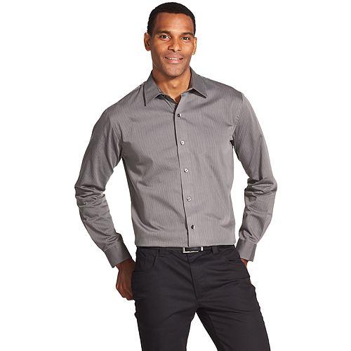 689d542c704 Men s Van Heusen Classic-Fit Striped Button-Down Shirt
