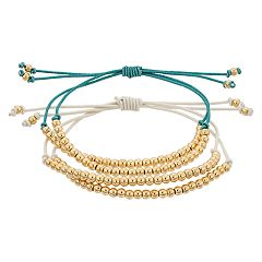 LC Lauren Conrad Beaded Friendship Bracelet Set