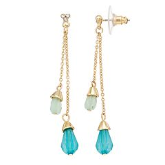 LC Lauren Conrad Beaded Drop Earring