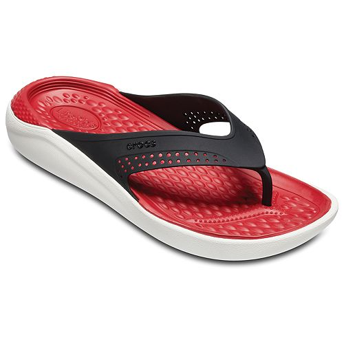 7df486af285df4 Crocs LiteRide Flip Adult Sandals
