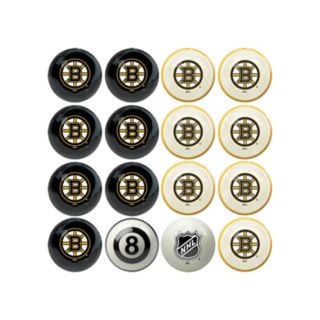 Home vs. Away Boston Bruins 16-Piece Billiard Ball Set