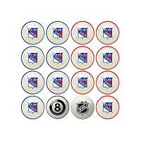 Home vs. Away New York Rangers 16-Piece Billiard Ball Set
