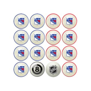 Home vs. Away New York Rangers 16-Piece Billiard Ball Set