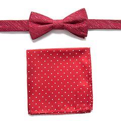 Men's Apt. 9® Pre-Tied Bow Tie and Pocket Square Set
