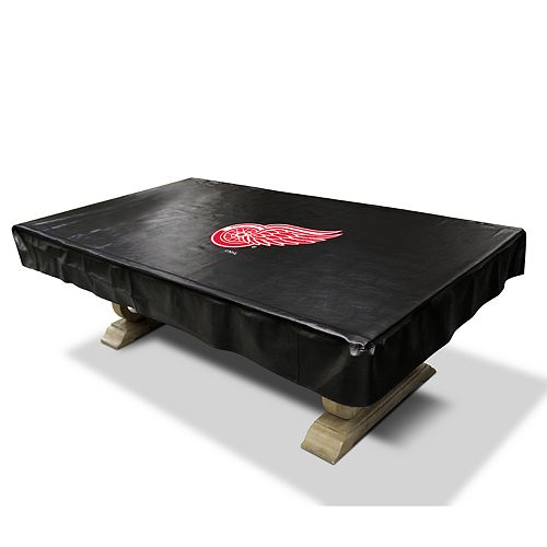 Detroit Red Wings 8-Foot Deluxe Pool Table Cover