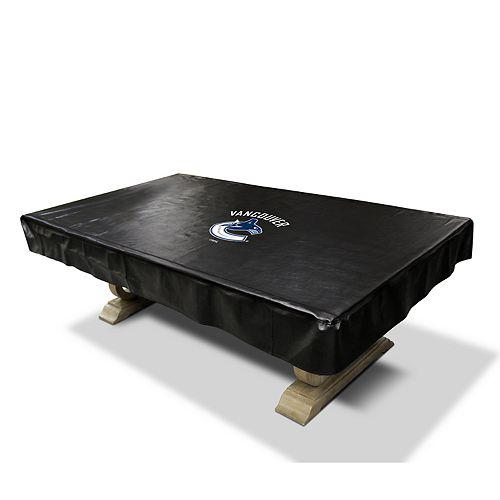 Vancouver Canucks 8-Foot Deluxe Pool Table Cover