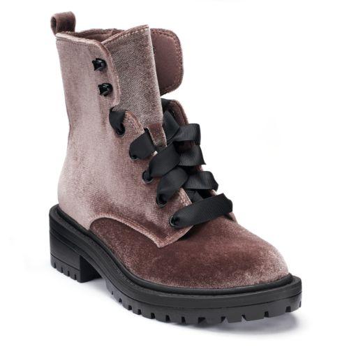 Candie's® Confident Women's ... Combat Boots