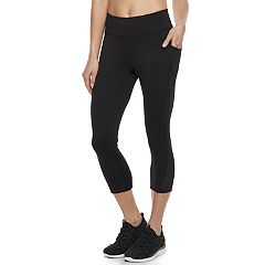 Women's Tek Gear® Performance Side Pocket Capri Leggings