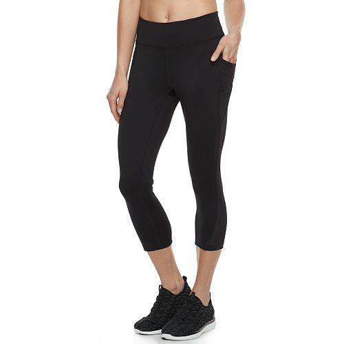 Women's Tek Gear® Performance Side Pocket Capri Leggings