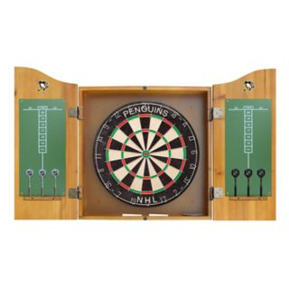 Pittsburgh Penguins Dartboard Cabinet