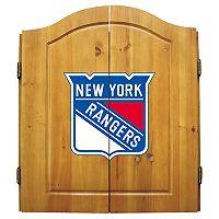 New York Rangers Dartboard Cabinet