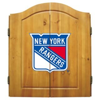 New York Rangers Dartboard Cabinet
