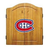 Montreal Canadiens Dartboard Cabinet