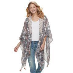 Women's SONOMA Goods for Life™ Joyful Mandala Kimono