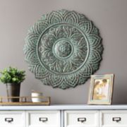 Stratton Home Decor Green Medallion Wall Decor